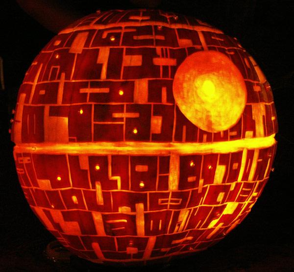 deathstar pumpkin