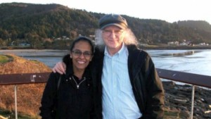 Indira Rajagopal (left) and Kevin Ahern (right)