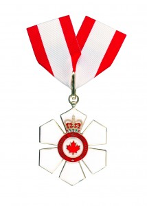 Companion to the Order of Canada Medal
