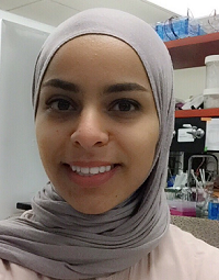 Haifa Alhadyian, University of Kansas Grad Student