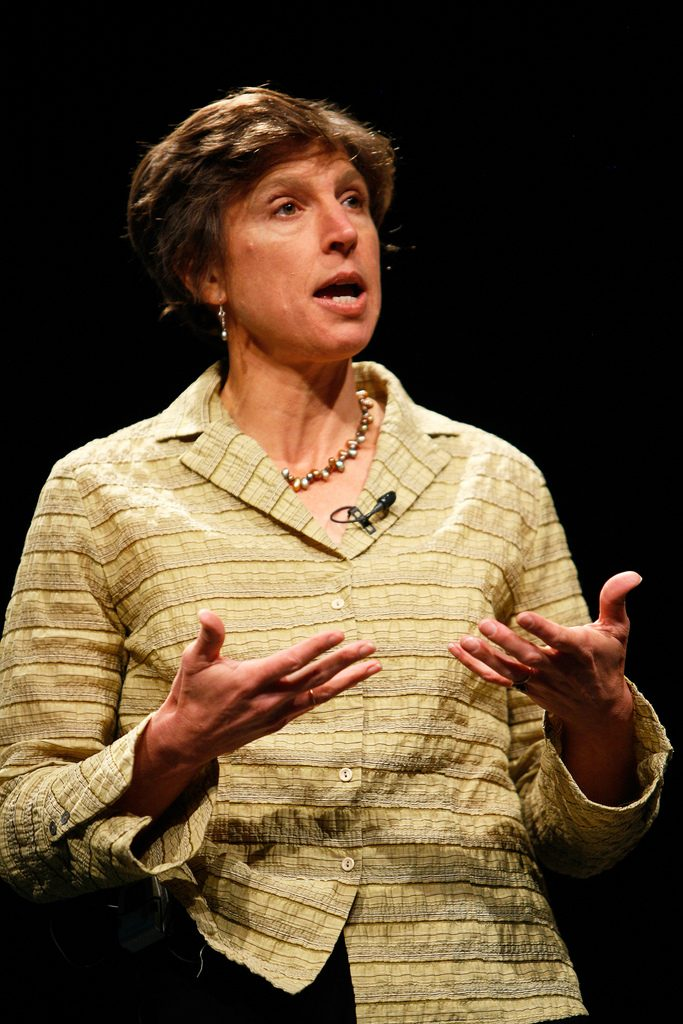Pamela Ronald at PopTech in 2008.