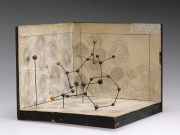 Molecular model of penicillin, the first antibiotic discovered. Later, antimicrobial peptides were also found to have antibiotic properties. By Science Museum London / Science and Society Picture Library [CC BY-SA 2.0 (http://creativecommons.org/licenses/by-sa/2.0)], via Wikimedia Commons.