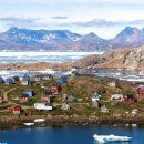 The village of Kulusuk, Greenland. Photo by Ville Miettenin via Flickr.