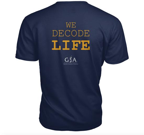 We decode life shirt