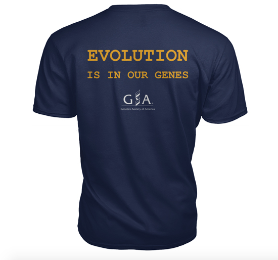 Evolution is in our genes shirt