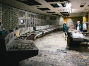Chernobyl Nuclear Power Plant, Control Room 2. Image credit: by Michael Kötter via Flickr.