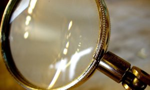 Photo of magnifying glass