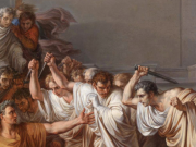 Image credit: The Assassination of Julius Caesar by Vincenzo Camuccini, public domain.