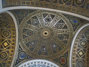 Ornate domed ceiling of National Academy of Sciences