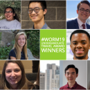 Worm19 Undergrad travel award collage
