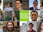 Worm19 Undergrad travel award collage