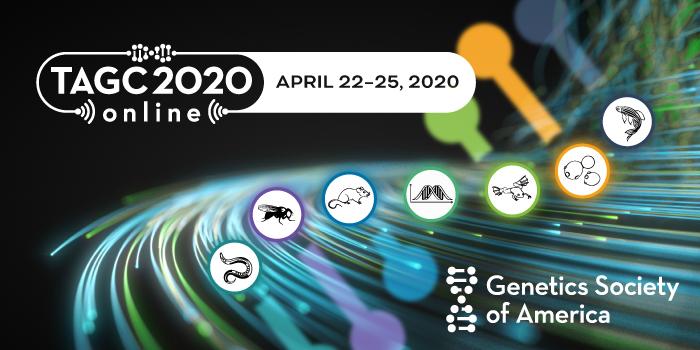 TAGC 2020 Online, April 22–25, 2020