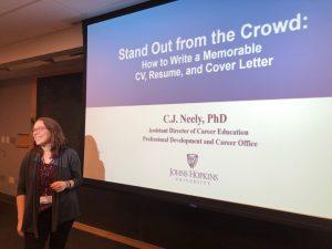 CJ Neely Presenting